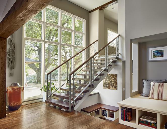 stairway remodel dallas
