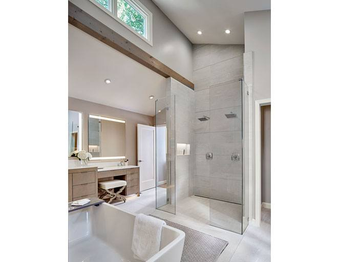 Master Bath Shower View