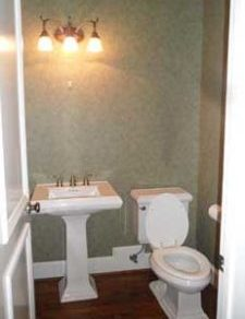 Powder Room Before