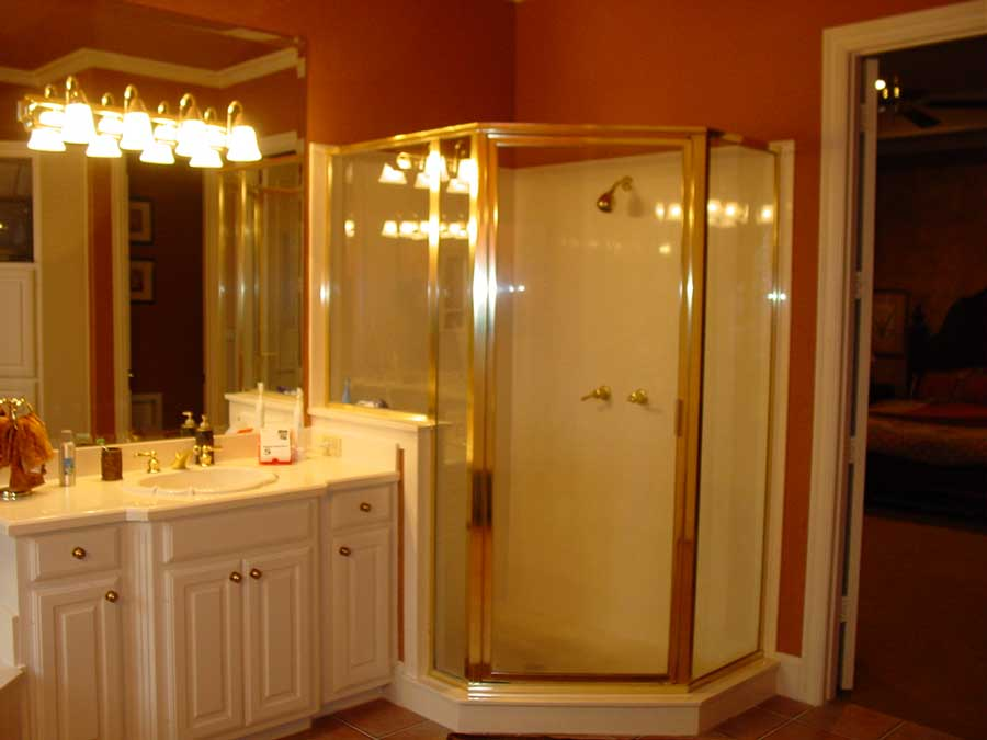 Lucas, Texas Home Addition - Bathroom BEFORE