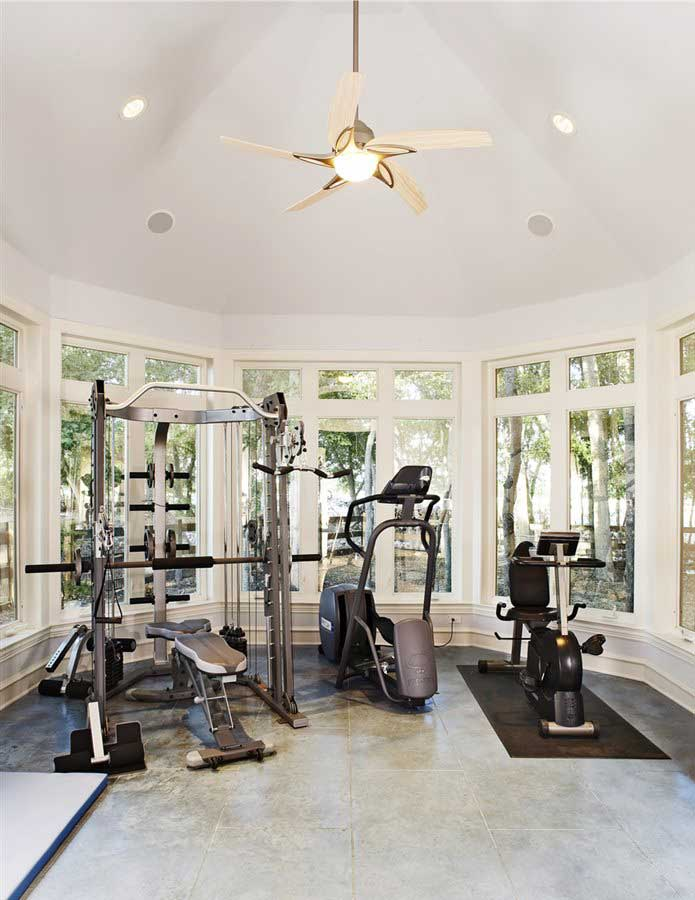 Lucas, Texas Home Addition - Exercise Room