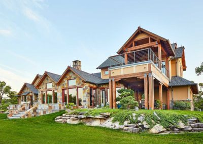 Hill-Country-Custom-Home-Exterior-Rear