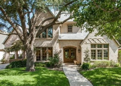 Traditional Custom Home in Preston Hollow Dallas, TX